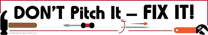 Don't Pitch It, Fix It!