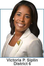 Victoria P. Siplin, District 6