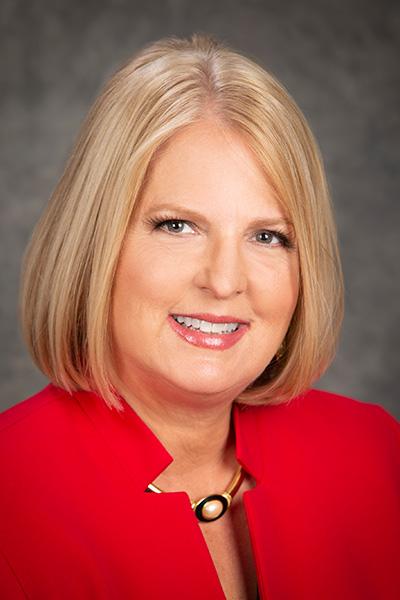 Retrato de la ComisionadaChristine Moore