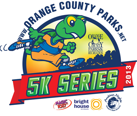 Orange County Parks 5K Series 2013 Logo