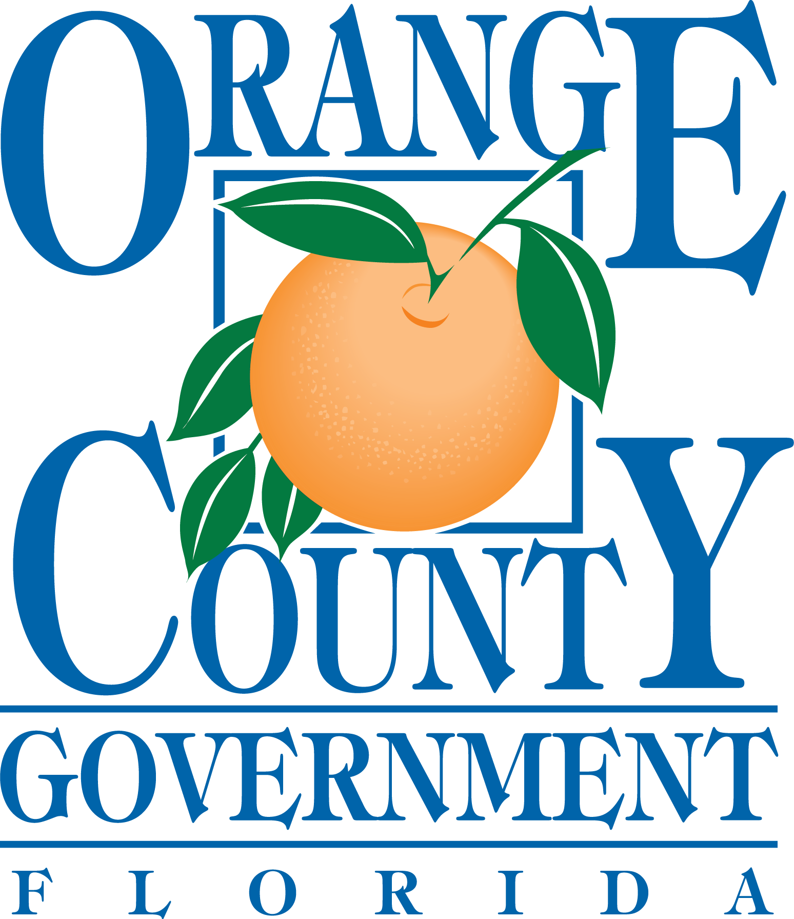 Orange County Government home page