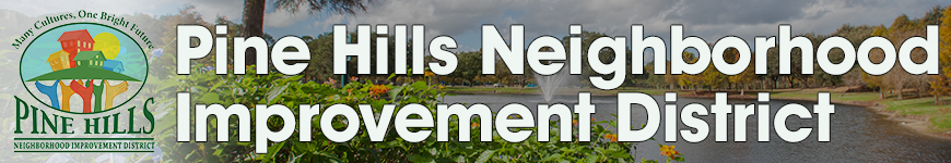 Pine Hills Neighborhood Improvement District Header