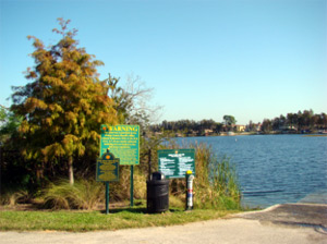 Lake Down Boat Ramp