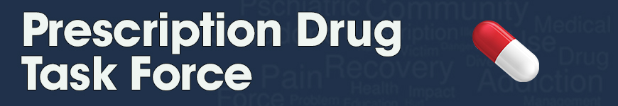 Prescription Drug Task Force banner