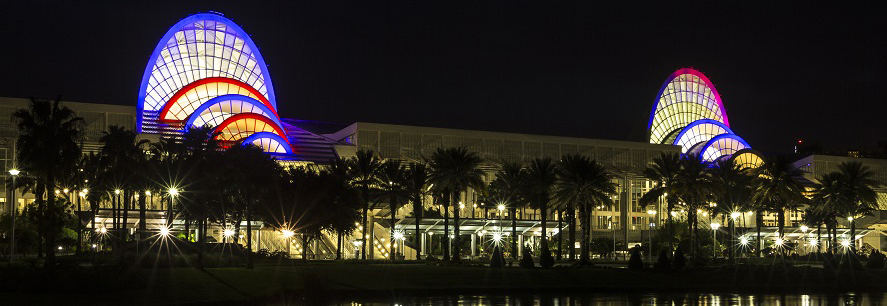 Orange County Convention Center, Links to Events Page