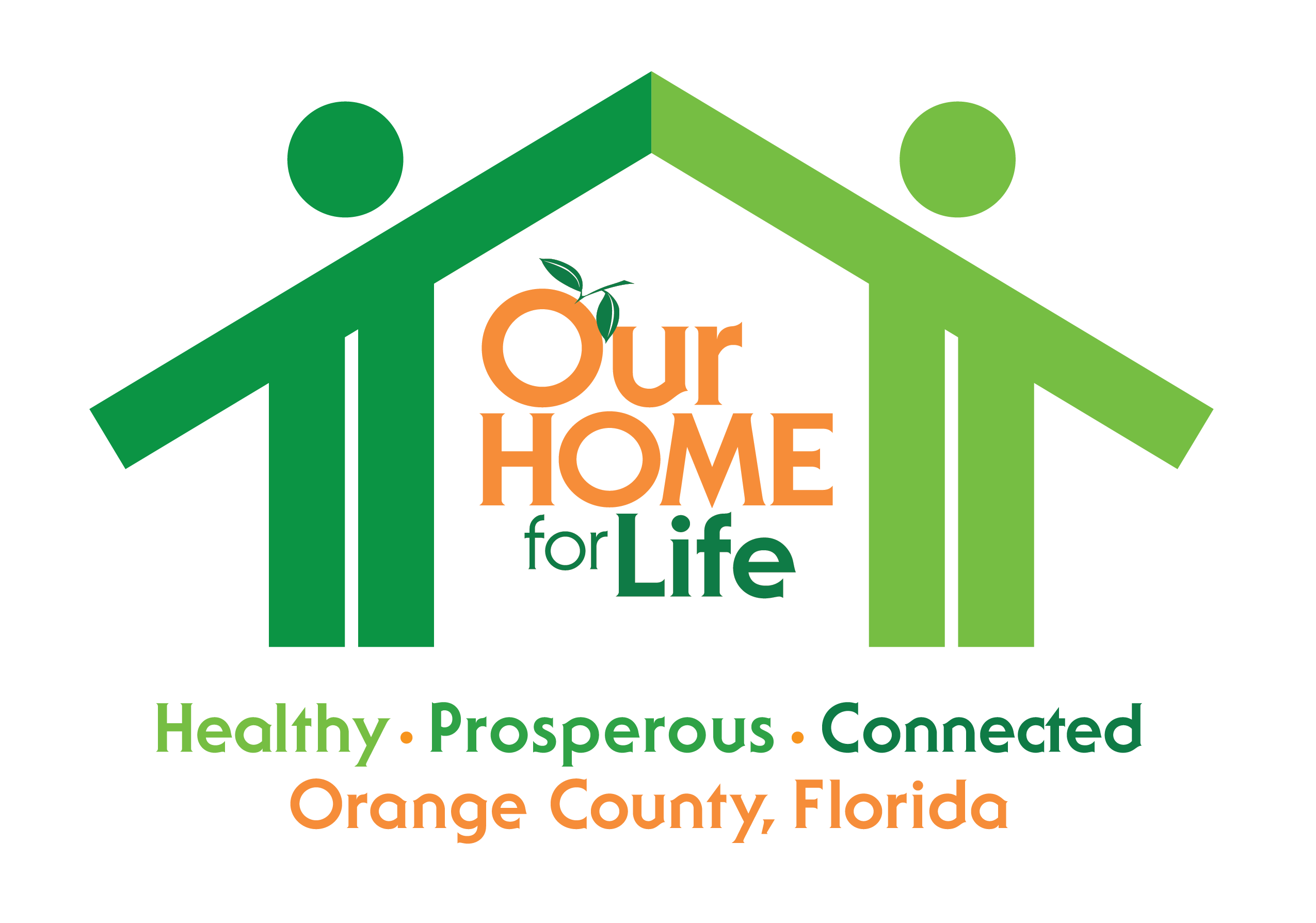 Our Home For Life logo, takes you back to Sustainability homepage