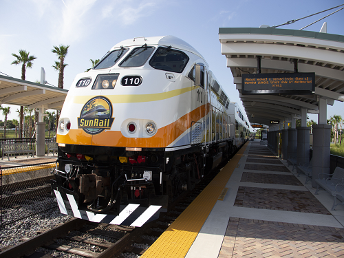 Image of SunRail train