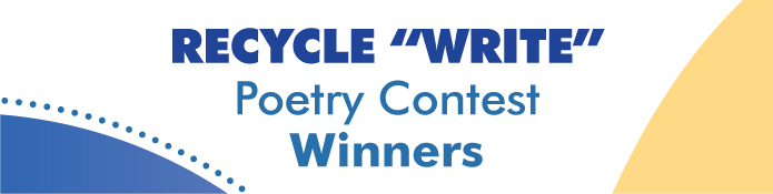 Recycle Write Poetry Contest Winners
