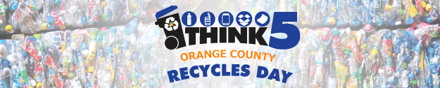 Think 5 - Orange County Recycles Day