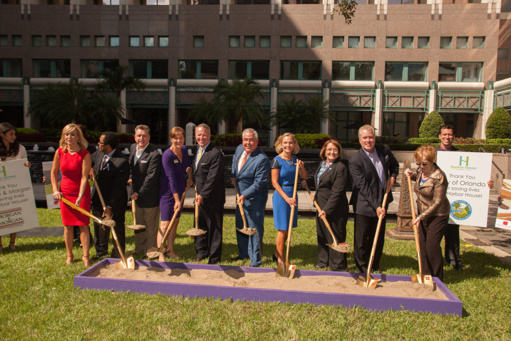Harbor House of Central Florida Breaks Ground